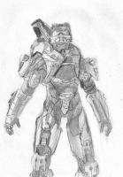 Halo 4 Master Chief by Wolfguy360