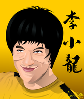 Bruce Lee by drifith