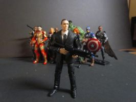 Agent Coulson by SpudaFett