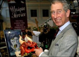 Prince Charles and the Dragon. by xothique