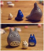 totoro family by Next--LVL