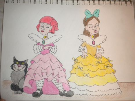 Cute Dresses. Ugly Attitudes. by AestheticEngineer