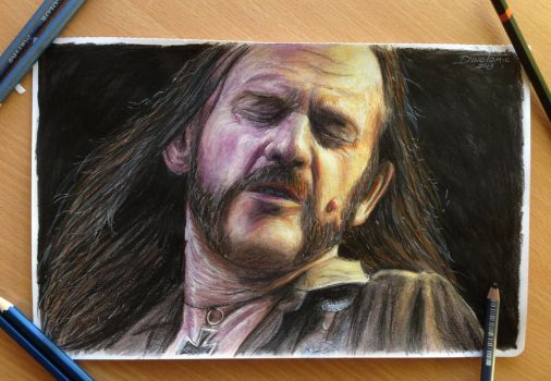 Lemmy drawing by AtomiccircuS