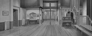 Dad's Army animation - Church Hall by Harnois75