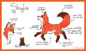 Shyla ref sheet by shy-fox
