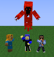 Minecraft Rescue Rangers by Sylandrophol