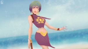 REASON is LOST to the BEACH BREEZE by jackcrowder
