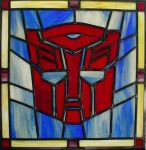 Autobot Stained Glass by AutobotWonko