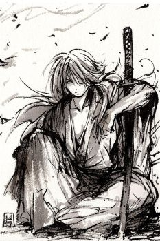 Kenshin sumi by MyCKs