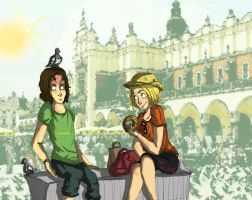 APH[Summer!Collab]- Holiday in Cracow by auntElisa