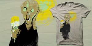 I scream for Ice Scream shirt by biotwist