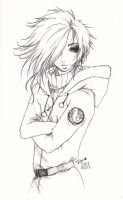 Uruha_winter sketch by KaZe-pOn