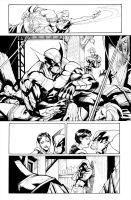 Wolverine #5 - Page 03 by Sandoval-Art