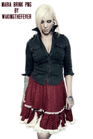 Maria Brink PNG by WakingTheFever