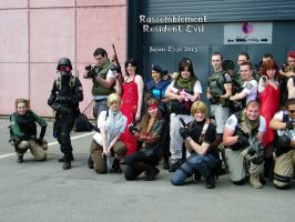 Resident evil group by redkojimax
