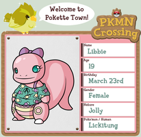 PKMN Crossing - Libbie by hpuff