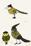 birb fashion by beagleamarelo