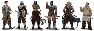 Pirate crew concept by mario-reg