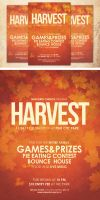 Harvest Celebration Church Flyer Template by loswl