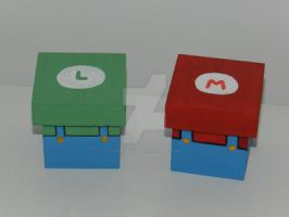 Mario Bros Box by artesladybug