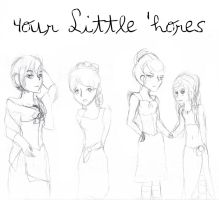 4our Little 'hores Cover Redone by MonMonMouse