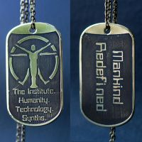 The Institute Fallout dog tag by TimforShade