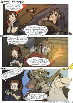 RLF Guest Comic - Skyrim by RobinF