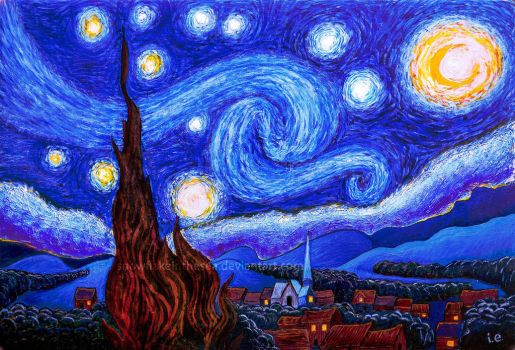Starry Night by snowflakeinthesea