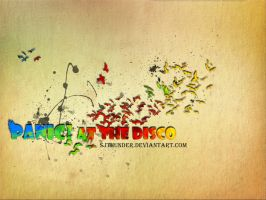 Panic At The Disco Wallpaper by sjthunder