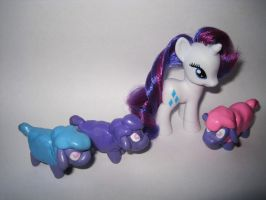 Tiny Ewes MLP Figures by iSaunter