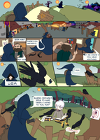 The Raven and The Mage pg1 by Swiftstart