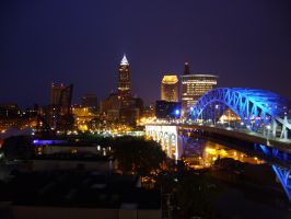 Cleveland, Ohio by Uplinkbob