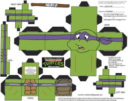 TMNT3: Donatello Cubee by TheFlyingDachshund
