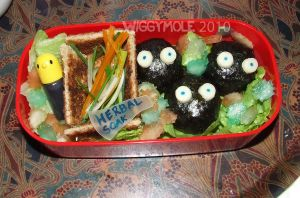 Spirited Away - Sootball Bento by Wiggymole