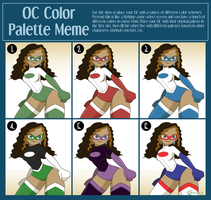 OC Color Palette Meme Ella by gamepal