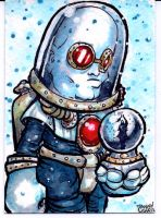 Dr. Victor Freeze commission by dsilvabarred