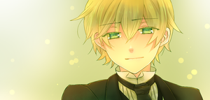 Pandora Hearts. Portrait. Oz by ShionMion