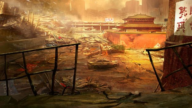 army of two, 40th day ca 3 by MarcSimonetti