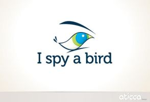 I Spy a Bird logo by AticcaDesign