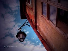 Sky on my Window by ruxydeva