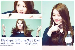 PHOTOPACK GIRLDAY #2 (YURA) by byunce