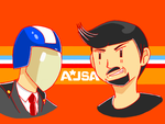 AJSA T Shirt Design by donicx1