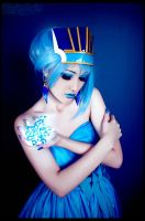 Blue Rose - Karina Lyle by Katy-Angel