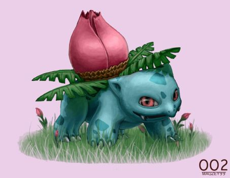 Ivysaur 002 by May5Rogers99