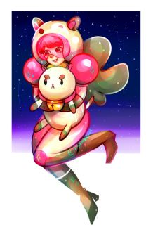Bee and Puppycat by sepiablue