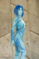 Halo - Cortana 2 by Hyokenseisou-Cosplay