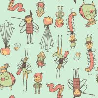 James and the Giant Peach Patt by reed682