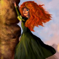 Merida: Touch The Sky by IgnitingLights