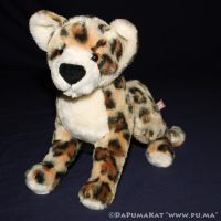 Douglas - Tristan the Leopard plush by dapumakat
