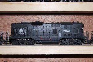 Penn Central GP9 by 3window34